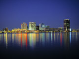 Norfolk Skyline, Virginia, USA Photographic Print by Walter Bibikow