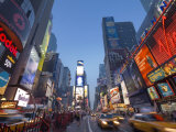 Manhattan Times Square, New York City, USA Photographic Print by Alan Copson
