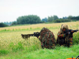Sniper Unit of the Paracommandos Photographic Print by  Stocktrek Images