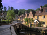 Castle Combe, The Cotswolds, Wiltshire, England Photographic Print by Rex Butcher