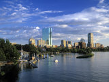 Back Bay, Boston, Massachusetts, USA Fotografie-Druck von Walter Bibikow