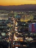 The Strip, Las Vegas, Nevada, USA Reproduction photographique par Gavin Hellier