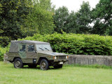 The VW Iltis Jeep Used by the Belgian Army Photographic Print by  Stocktrek Images