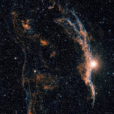 Witches Broom Nebula and Veil Nebula Photographic Print by  Stocktrek Images