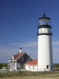 Cape Cod Lighthouse, Truro, Cape Cod, Massachusetts, USA Photographic Print by Walter Bibikow