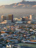 Downtown El Paso, Texas, USA Photographic Print by Walter Bibikow