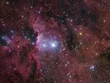 Starforming Region in Ara Photographic Print by Stocktrek Images