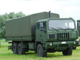 The Iveco M250 8 Ton Truck of the Belgian Army Photographic Print by Stocktrek Images
