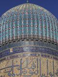 Bibi Khanym Mosque, Samarkand, Uzbekistan Fotografie-Druck von Ivan Vdovin