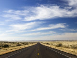 Road Near Marfa, West Texas, USA Photographic Print by Walter Bibikow