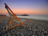 Beach at Brighton, East Sussex, England Photographic Print by Jon Arnold
