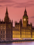 Big Ben and Houses of Parliament, London, England Photographic Print by Doug Pearson
