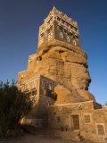 Dar Al Hajar, Wadi Dhar, Yemen Photographic Print by Michele Falzone