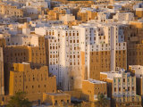 Shibam, Wadi Hadramaut, Seiyun District, Yemen Photographic Print by Michele Falzone