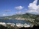 Charlotte Amalie, St. Thomas, Us Virgin Islands, Caribbean Photographic Print by Walter Bibikow