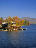 Squam Lake, Lakes Region, New Hampshire, USA Impressão fotográfica por Walter Bibikow