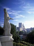 Roger Williams Memorial, Providence, Rhode Island, USA Fotoprint av Walter Bibikow