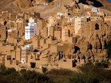Al Hajjarin Village, Wadi Dawan, Yemen Photographic Print by Michele Falzone