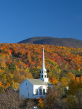 Church at Stowe, Vermont, New England, USA Photographic Print by Demetrio Carrasco