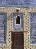 Harem in Khan's Palace, Khiva, Uzbekistan Fotografie-Druck von Ivan Vdovin