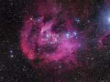 IC 2944 Running Chicken Nebula Photographic Print by  Stocktrek Images