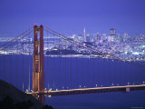 Golden Gate Bridge., San Francisco, California, U.S.A. Lámina fotográfica por Walter Bibikow