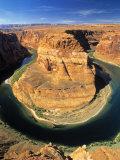 Horseshoe Bend, Colorado River, Arizona, USA Photographic Print by Gavin Hellier