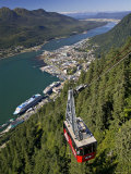 View from Mt. Robert'S, Juneau, Alaska, USA Photographic Print by Walter Bibikow