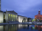 State Capitol and War Memorial Auditorium, Nashville, Tennessee, USA Photographic Print by Walter Bibikow