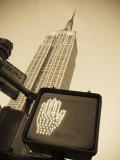 Empire State Building, Manhattan, New York City, USA Photographic Print by Alan Copson