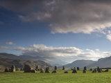 Castlerigg Stone Circle, Keswick, Lake District, Cumbria, England Photographic Print by Doug Pearson