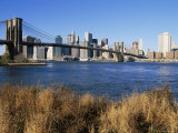 Brooklyn Bridge and Manhattan, New York City, USA Photographic Print by Doug Pearson