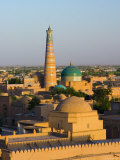View over Old Town of Khiva, Uzbekistan Photographic Print by Michele Falzone