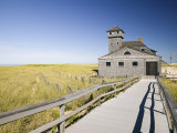 Old Life Saving Station, Race Point Beach, Provincetown, Cape Cod, Massachusetts, USA Photographic Print by Walter Bibikow