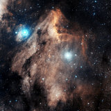 Pelican Nebula Photographic Print by Stocktrek Images