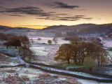 Frosty Morning, Little Langdale, Lake District, Cumbria, England Photographic Print by Doug Pearson