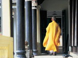 Buddhist Monk, Hue, Vietnam Photographic Print by Peter Adams