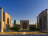 The Registan, Samarkand, Uzbekistan Photographic Print by Michele Falzone