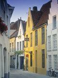 Bruges, Belgium Fotodruck von Peter Adams