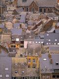 Rooftops, Liege, Belgium Photographic Print by Walter Bibikow