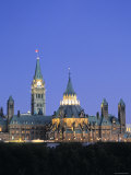 Canadian Parliament, Ottowa, Ontario, Canada Photographic Print by Walter Bibikow