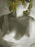 Porcelain Woman with Blond Hair Photographic Print by Paula Iannuzzi