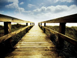 Boardwalk Leading to the Sky Photographic Print by Jan Lakey