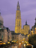 Cathedral at Antwerp, Belgium Photographic Print by Demetrio Carrasco