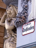 Statue on Building, Tuchlauben, Vienna, Austria Photographic Print by Jon Arnold