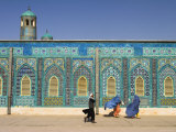 Shrine of Hazrat Ali, Mazar-I-Sharif, Afghanistan Photographic Print by Jane Sweeney