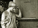 Cemetery Statues, no. 6 Photographic Print by Katrin Adam