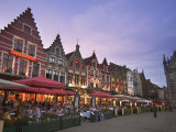 The Markt, Bruges, Flanders, Belgium Photographic Print by Alan Copson