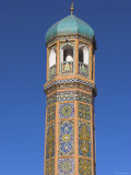 Minaret of Friday Mosque, Herat, Afghanistan Photographic Print by Jane Sweeney