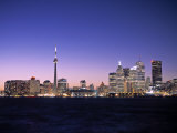 Skyline of Toronto, Ontario, Canada Photographic Print by Walter Bibikow